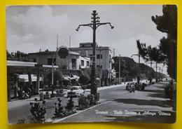 Cartolina Tirrenia Viale Tirreno E Albergo Vittoria 1963 - Pisa