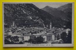 Cartolina Briga Marittima 1948 - Cuneo