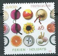 ALLEMAGNE ALEMANIA GERMANY DEUTSCHLAND BUND 2004 EUROPA 45C MI 2397 YV 2221 SC 2281 SG 3267 - Usati