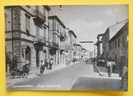 Cartolina Cupramarittima Corso Nazionale 1950 - Ascoli Piceno