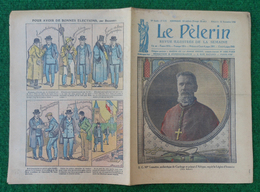 Revue Illustrée Le Pèlerin - Novembre 1923 - À L'école, Lecture Du Nom Des Habitants Tombés Au Champ D'honneur - Journaux - Quotidiens