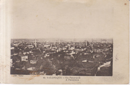 Salonique Vue Generale   1917 - Grecia