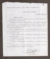 WWI - Comando Marina - Comunicazione Decesso Tenente Al Padre - 25 Dicembre 1917 - Documenti