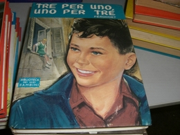 LIBRO TRE PER UNO ,UNO PER TRE-EDIZIONE SALANI 1959 - Novelle, Racconti