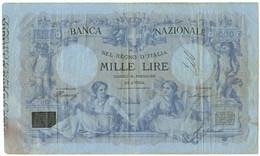 1000 LIRE BANCA NAZIONALE NEL REGNO D'ITALIA MATRICE 19/01/1881 QBB - [ 1] …-1946 : Kingdom