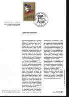 Lot De 3 Documents Philatéliques , Maurice Genevoix, Aristide Bruant , 2 Unesco 1990 - Autres