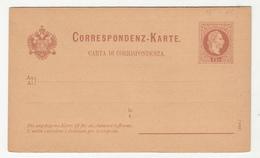 Austria Italian Postal Stationery Postcard With Reply Carta Di Corrispondenza Unused B190710 - Interi Postali