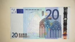 EURO Holland 20 EURO (P) G002 Sign Duisenberg - EURO