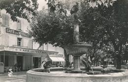 CPSM - France - (30) Gard - Pont-Saint-Esprit - Les Allées Et La Fontaine Du Coq - Pont-Saint-Esprit