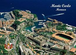 Monaco Monte Carlo Aerial View Stadium New Postcard Stadion AK - Monaco