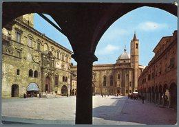 °°° Cartolina N. 124 Ascoli Piceno Piazza Del Popolo Nuova °°° - Ascoli Piceno