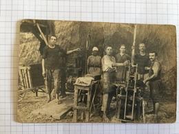 19B - Ouvriers Briquetiers Briqueterie Au Dos Frasnes Lez Gosselies 1919 - Artisanat
