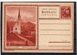 FAL14 - LIECHTENSTEIN CARTE POSTALE MICHEL N°P10 - Stamped Stationery