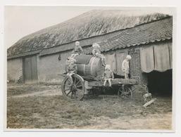 FOTO  11 X 8 CM - 1929    AALKAR - Paysans