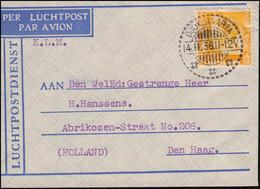 386. KLM-Flugpost DC-2 PH-AKN NL-Indien - NL DJOKJAKARTA 14.11.36 Nach Den Haag - Luftpost