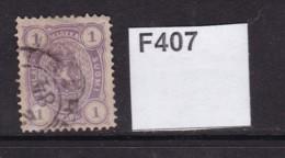 Finland 1875 1m Mauve - 1856-1917 Russian Government
