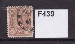 Finland 1875 10p Brown - 1856-1917 Russian Government