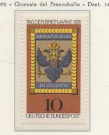 PIA - GERMANIA - 1976 : Giornata Del Francobollo  -  (Yv 752) - Giornata Del Francobollo