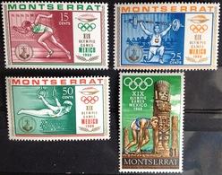 Montserrat 1968 Olympic Games MNH - Montserrat