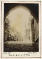 Saint-Valéry-sur-Somme . Rue De Nevers . Citrate 1899 . Famille En Forêt D'Eu Au Verso. - Photos