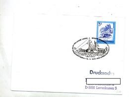Lettre Cachet Engelhartszll  Exposition  Bateau Maria - Marcofilie - EMA (Print Machine)