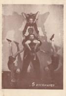 Circus Bohemia 5 Khermayer Old Postcard - Circus