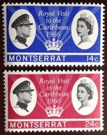 Montserrat 1966 Royal Visit MNH - Montserrat