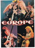 Popmusic: 'EUROPE' In Concert - Muziek En Musicus