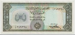 YEMEN ARAB P. 10 50 R 1971 VF - Yemen