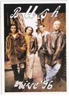 Popmusic: BUSH Live '96 - Muziek En Musicus