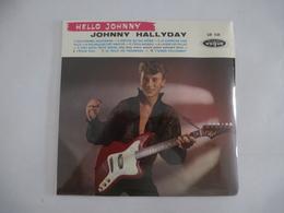 JOHNNY HALLYDAY : HELLO JOHNNY VOGUE LD 521 Vinyles 25 Cm - Scan Recto Et Verso - Collector's Editions