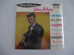 JOHNNY HALLYDAY : TETE à TETE Avec... LD 549 Vinyle 25 Cm - Scan Recto Et Verso - Collector's Editions