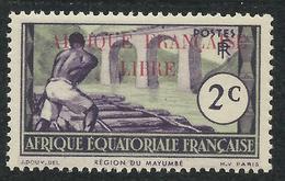 AFRIQUE EQUATORIALE FRANCAISE - AEF - A.E.F. - 1940 - YT 93** - A.E.F. (1936-1958)