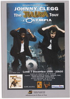 Popmusic:  JOHNNY CLEGG 'The Juluka Tour' à L'Olympia - Paris - 1998 - Muziek En Musicus