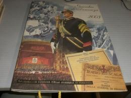 CALENDARIO GUARDIA DI FINANZA 2003 - Calendari