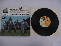 LES CHAUSSETTES NOIRES ROCK'N TWIST Vinyle 25 Cm BARCLAY 1961 - Scan Recto Et Verso - Collectors