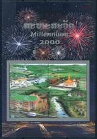 230 - Laos 2000  BF 150 A ; Block 177 A **  MNH  Millenium 2000 - Laos