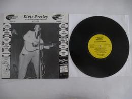 ELVIS PRESLEY : At The Louisiana Hayride 1954-56  Vinyle 25 CM STEN 8 STOMPER TIME RECORDS édité En 2002 - Collectors