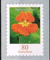 Bund 2019,Michel# R ** Blumen: Kapuzinerkresse Selbstklebend Von Der 100er Rolle Mit Nr. - [7] Federal Republic