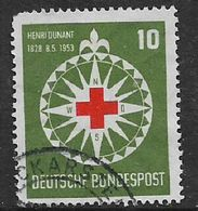 Germany, F.R., 1953, Red Cross, Road Safety, Prisoners, Used - [7] Federal Republic