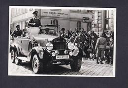 Reproduction Reichsprotektorat über Böhmen Und Mähren - Der Fürher In Brünn ( Adolf Hitler Voiture ) - Weltkrieg 1939-45
