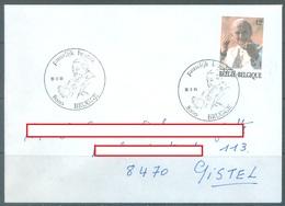 BELGIUM - 30.3.1985 - FDC - JEAN PAUL II - COB 2166 - Lot 19925 - FDC