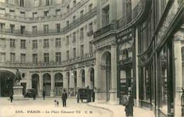 PARIS  9eme Arrondissement   Place Edouard VII - Distrito: 09