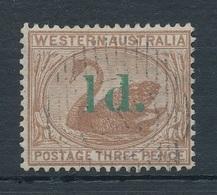1885. Western Australia - Oblitérés