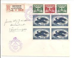 Aangetekend Amsterdam 15 Jaar Philatelist.Dag Van De Postzegel. Lebau.Vliegende Kraai - 1891-1948 (Wilhelmine)