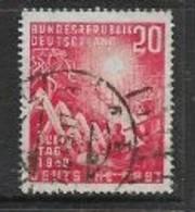 Germany, F.R., 1949, Opening Of W.German Parliament, 20pf, Used - [7] Federal Republic