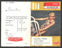 Pochette Photos / Negatieven Envelop - Gevaert Gevacolor - Montigny-le-Tilleul - Matériel & Accessoires