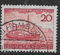Germany, F.R., 1952, Heligoland, Used - [7] Federal Republic