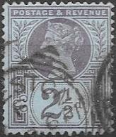 Reine VICTORIA 1887/1900-YT 95-OBL - Used Stamps