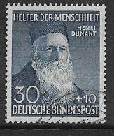 Germany, F.R., 1952, Henri Dunant, Used - [7] Federal Republic